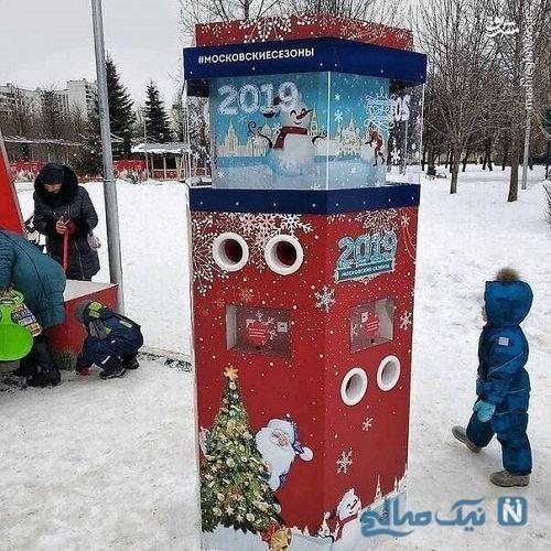 ایده بسیار جالب شهردار مسکو برای گرم کردن دست مردم