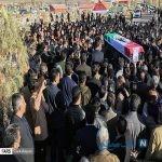 تصاویری از مراسم تشییع پیکر دانش آموزان زاهدانی