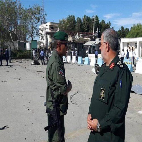 اولین تصاویر منتشر شده از محل حمله تروریستی چابهار