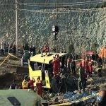 اولین عکس از دانشجویان کشته شده در واژگونی اتوبوس دانشگاه علوم تحقیقات
