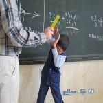 تنبیه دلخراش دانش آموز توسط مدیر مدرسه در قزوین