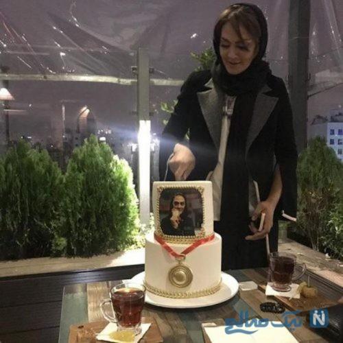 تصاویری از جشن قهرمانی شهربانو منصوریان با حضور هنرمندان
