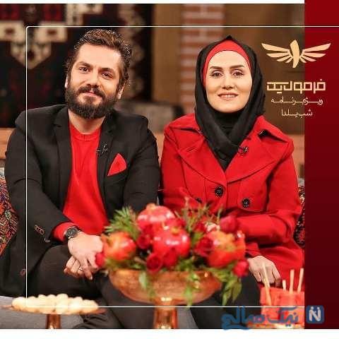 ازدواج عباس غزالی و همسرش