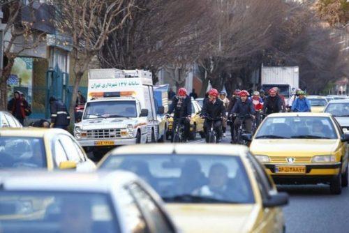 دوچرخه سواری شهردار