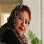 رابعه اسکویی در مراسم تشییع پیکر پیام صابری