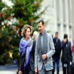 بشار اسد و همسرش اسما در کلیسا + تصاویر