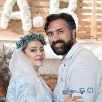 شب یلدای لاکچری بهاره رهنما و همسرش / عکس