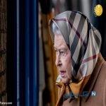 ملکه انگلیس با روسری به تعطیلات کریسمس رفت!