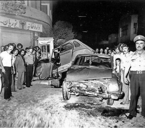 تصادفات در ایران