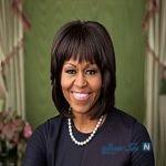 تصاویری از لباس پر زرق و برق همسر باراک اوباما