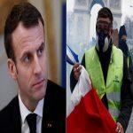 مکرون رئیس جمهور فرانسه خواسته معترضان را پذیرفت!