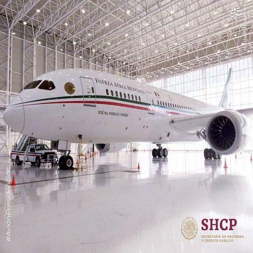 تصاویری دیدنی از فروش هواپیمای لوکس رئیس جمهور مکزیک