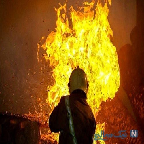 آتش سوزی در خوابگاه دخترانه شادگان