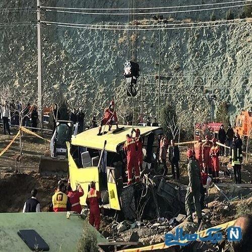 آخرین خبر از پرونده حادثه مرگبار اتوبوس دانشجویان دانشگاه علوم تحقیقات