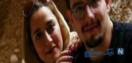 سلفی امیر کاظمی با همسرش در هفتمین سالگرد ازدواجشان