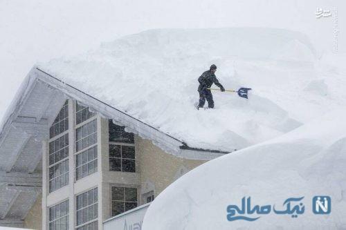 برف2 متری