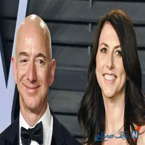 طلاق همسر جوزف بزوس بنیانگذار شرکت امریکایی آمازون
