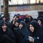 تصاویری از تجمع حمایت از مادورو در تهران
