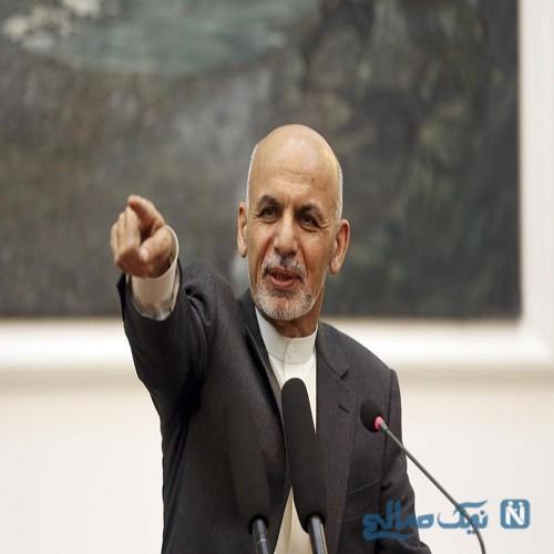 تذکر رئیس جمهور افغانستان به همسرش برای رعایت حجاب + عکس
