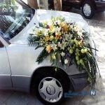 تزیین ماشین عروس جالب و دیدنی یک عروس داماد چینی