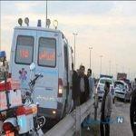 تصادف سرویس مدرسه با نیسان در تهران + اسامی مصدومان