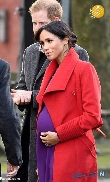 بارداری مگان مارکل