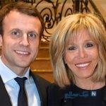 ماکرون رئیس جمهور فرانسه و همسرش در معبد رامسس دوم + تصاویر