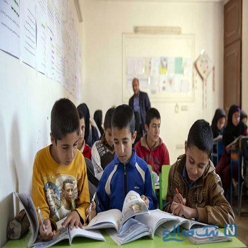 وضعیت اسفبار مدرسه عشایری در شیراز + تصاویر
