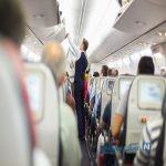 اقدام شرم آور جوان مست در هواپیما + عکس