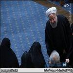 حضور زنان در مراسم دومین سالگرد هاشمی رفسنجانی
