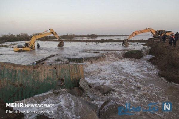 سیلاب در خوزستان
