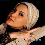 سامیه لک بازیگر ایرانی مدل تبلیغاتی شد!