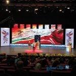 تک خوانی یک زن در مراسم افتتاحیه جشنواره فیلم فجر + فیلم