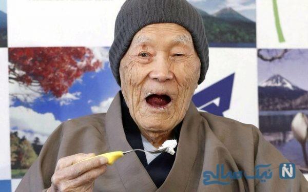 مسن ترین مرد جهان