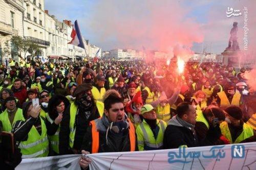 معترضان جلیقه زرد