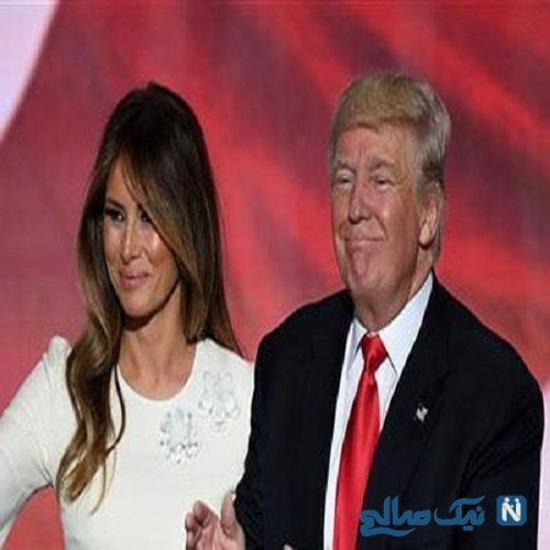 واکنش ملانیا ترامپ به رفتارهای عجیب و زننده ترامپ