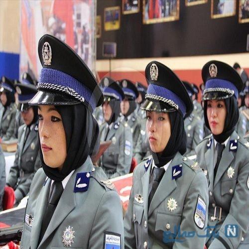 آموزش زنان پلیس افغانستان در ترکیه + تصاویر