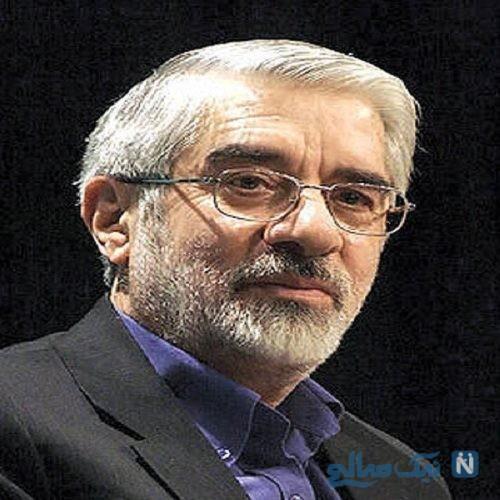 تصویری از هدیه دانشجویان اصولگرا به میرحسین موسوی