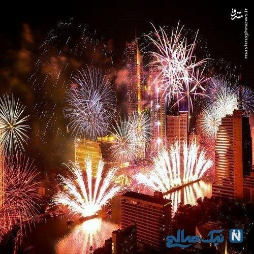 آغاز سال نو در کلیسای سرکیس مقدس تهران + تصاویر