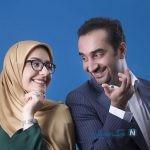 تبریک ویژه آقای مجری برای همسرش به مناسبت روز زن