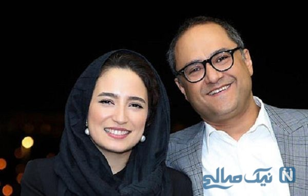 سلفی رامبد جوان و همسرش، زوج سینمایی ایران در پشت صحنه یک نمایش