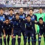 تصویری بسیار جالب از رختکن تیم فوتبال ژاپن