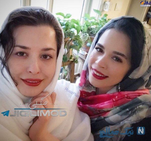 مهراوه و ملیکا شریفی نیا
