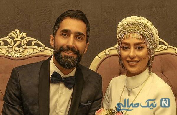 تصویری از تفریح و خوشگذرانی سمانه پاکدل و همسرش هادی کاظمی