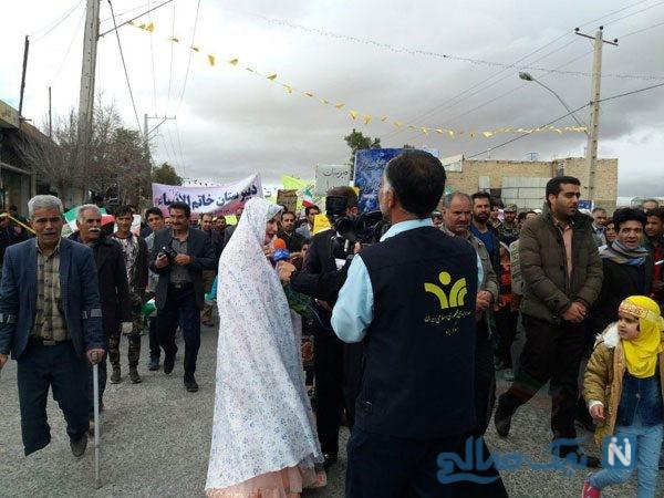 راهپیمایی یزد
