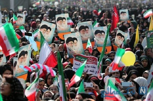 کاروان چهل عروس و داماد در چهلمین سالگرد پیروزی انقلاب + عکس