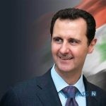 عکس بشار اسد در آغوش رهبر انقلاب ایران