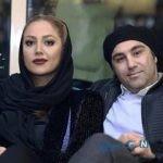 محسن تنابنده و همسرش در جشنواره فیلم فجر