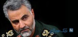 فرزند شهید مدافع وطن در آغوش سردار سلیمانی +عکس