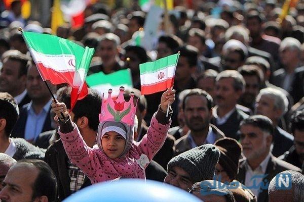 عکس لوتی ها در مراسم راهپیمایی ۲۲ بهمن ۹۷
